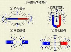 常见的磁感线分布示意图