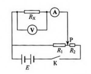 分压电路图-内接法
